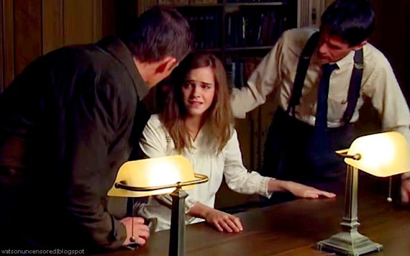 emma watson regression movie behind the scenes
