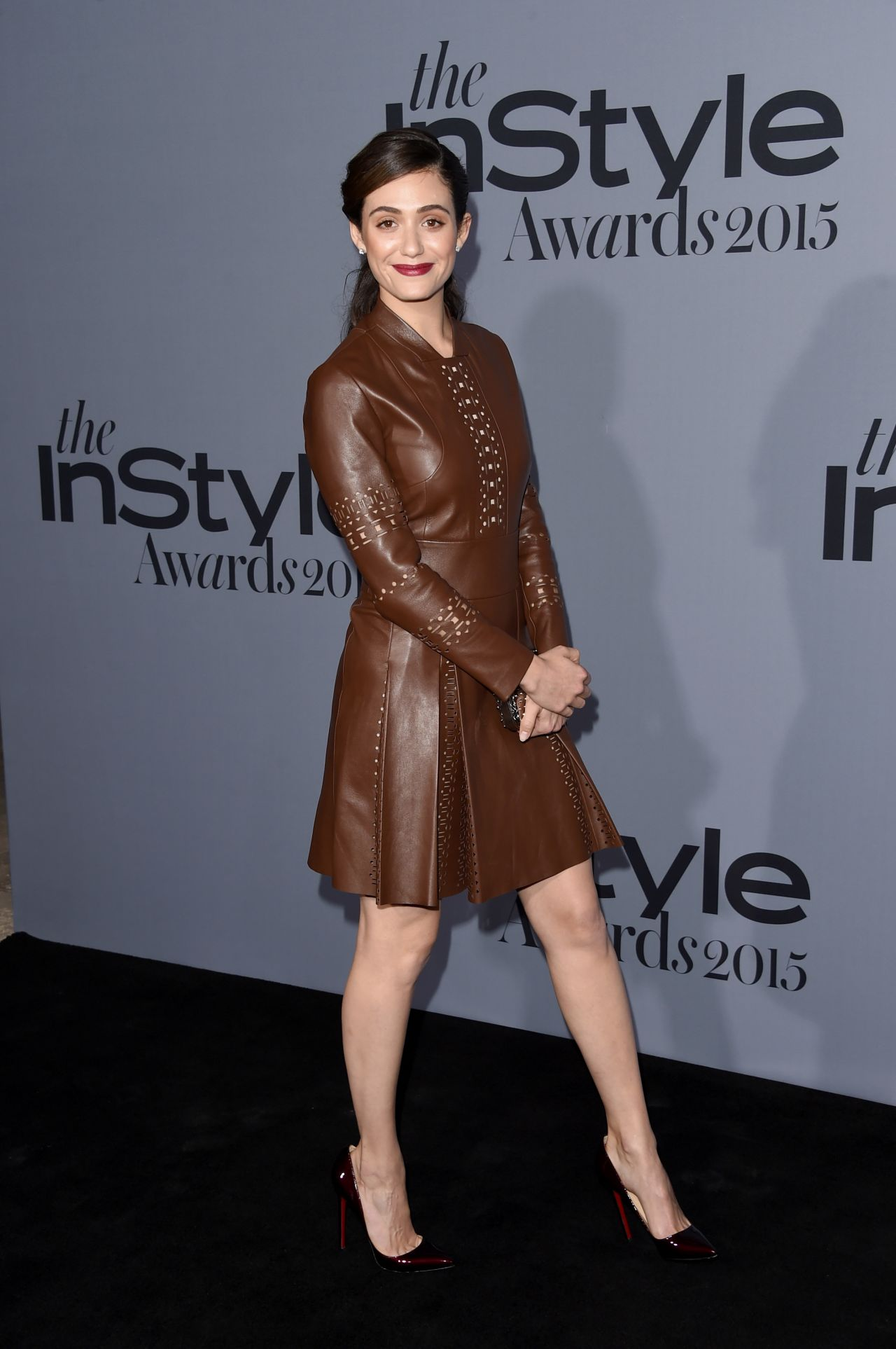 Emmy Rossum 2015 Instyle Awards In Los Angeles
