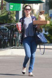 Emmy Rossum - Grabbing Lunch at Hugo