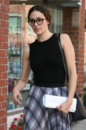Emmy Rossum - Out and About in Beverly Hills, October 2015