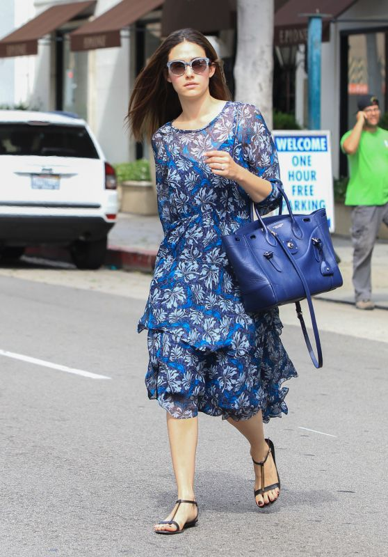 Emmy Rossum - Out in Los Angeles, October 2015