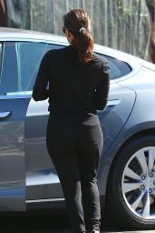 Eva Longoria - After Lunch at Kiwami Japanese Restaurant, October 2015