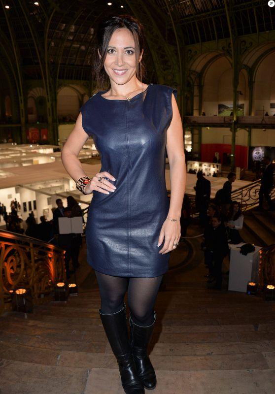 Fabienne Carat - FIAC 2015 Orange Party Inauguration at Grand Palais in Paris, October 2015