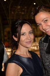 Fabienne Carat - FIAC 2015 Orange Party Inauguration at Grand Palais in Paris, October 2015