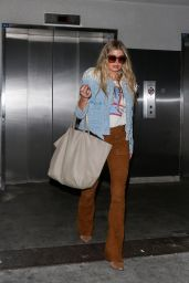 Fergie Airport Style - at LAX, October 2015