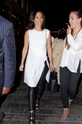 Frankie Sandford Night Out Style - Out in London, September 2015