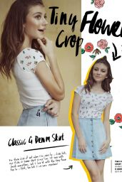 Genevieve Hannelius - G by G Clothing Line Lookbook 2015