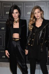 Gigi Hadid - BALMAIN X H&M Collection Launch in New York City