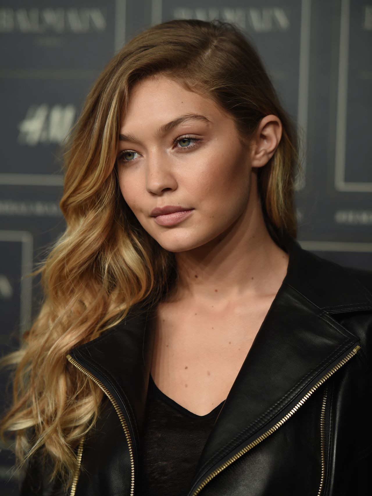 Gigi Hadid Best Beauty Trends: BALMAIN X H&M Collection Launch In New York City