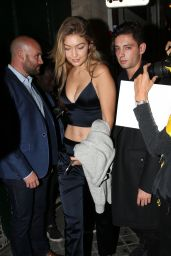 Gigi Hadid Night Out Style - Paris, October 2015