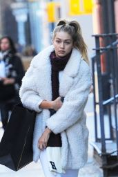 Gigi Hadid Out in Soho, New York City, October 2015
