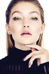 Gigi Hadid - Photshoot for Elle Magazine Canada - November 2015