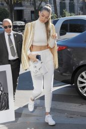 Gigi Hadid Street Fashion - at L