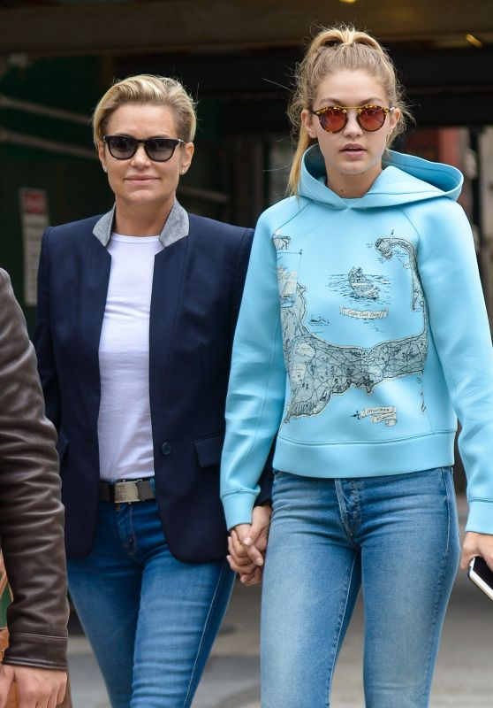 Gigi Hadid Street Style - Out in New York City, October 2015