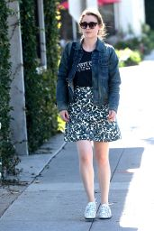 Gillian Jacobs - Out in Beverly Hills, October 2015
