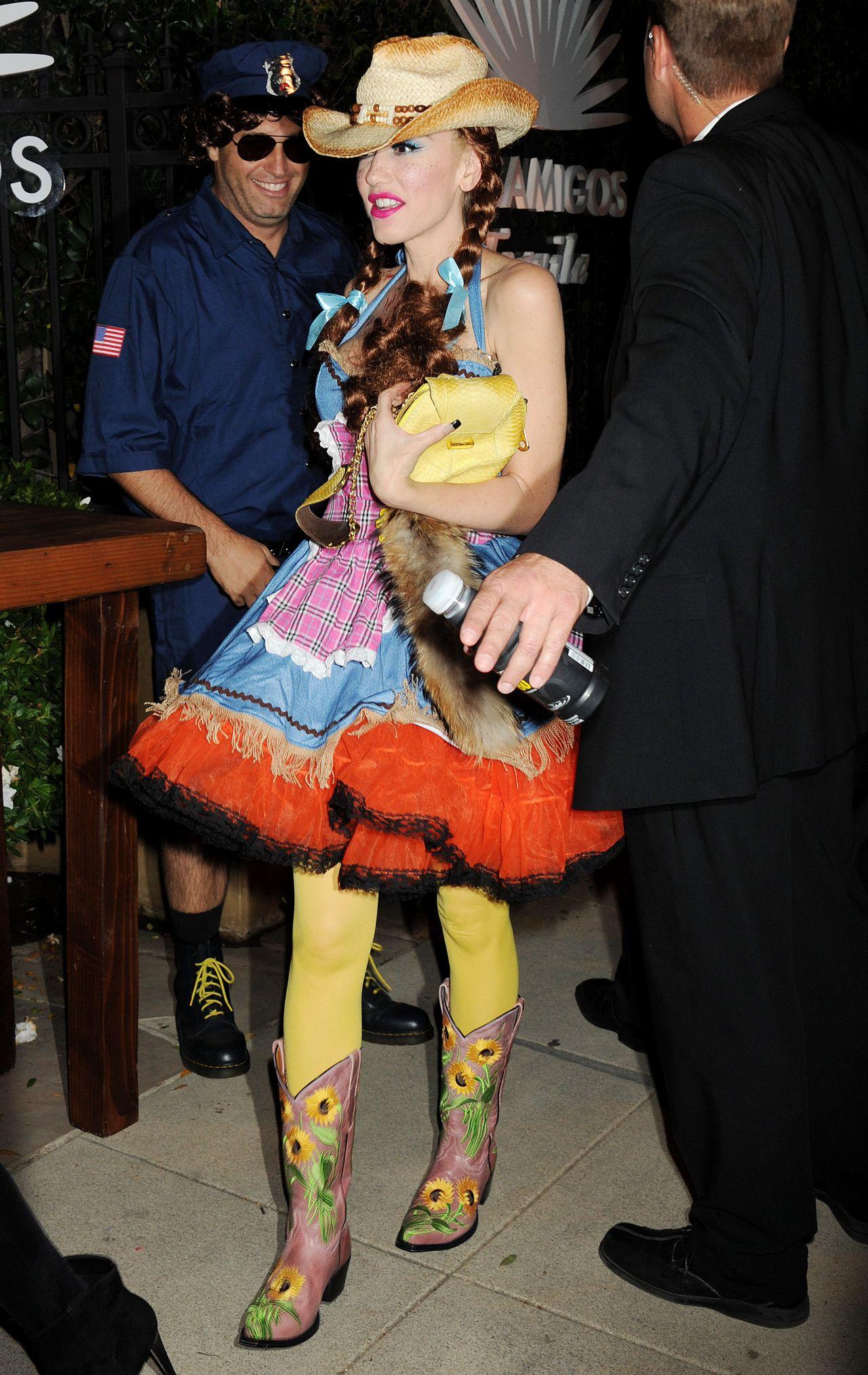 Stefani - Casa Tequila Halloween Party in Beverly Hills, October 2015