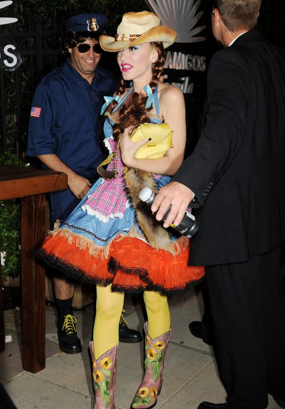 Gwen Stefani - Casa Tequila Halloween Party in Beverly Hills, October 2015