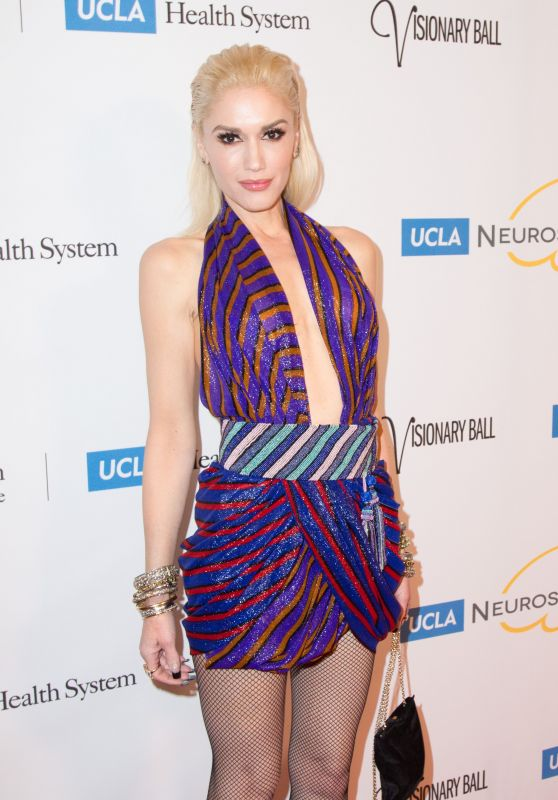 Gwen Stefani - UCLA Neurosurgery Visionary Ball in Los Angeles, October 2015