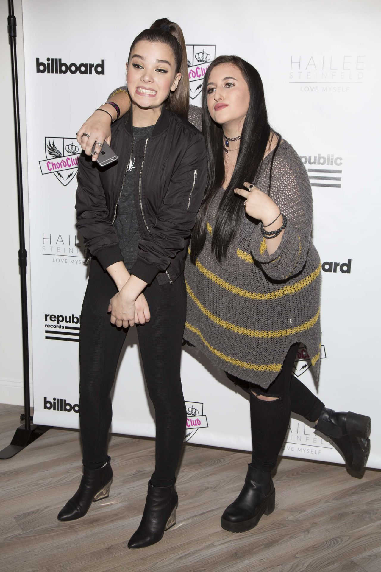 Hailee Steinfeld Meet And Greet At The Chord Club By Billboard In