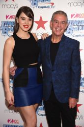 Hailee Steinfeld - Z100 Jingle Ball Kick Off Event in New York City