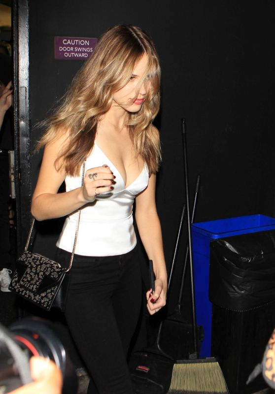 Halston Sage Night Out - West Hollywood, October 2015