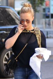Hayden Panettiere - Out in New York City, October 2015