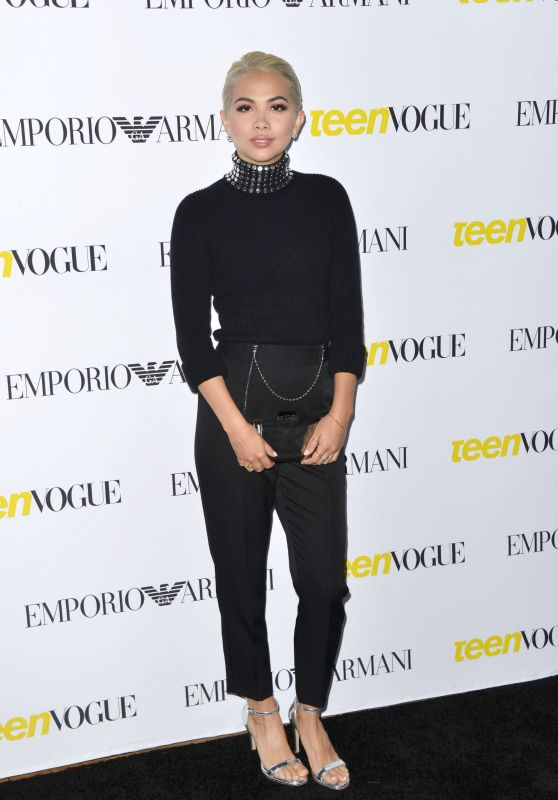 Hayley Kiyoko – 2015 Teen Vogue Young Hollywood Issue Launch Party in Los Angeles