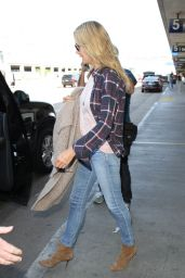 Heidi Klum at Los Angeles International Airport, October 2015