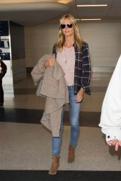 Heidi Klum at Los Angeles International Airport, October 2015