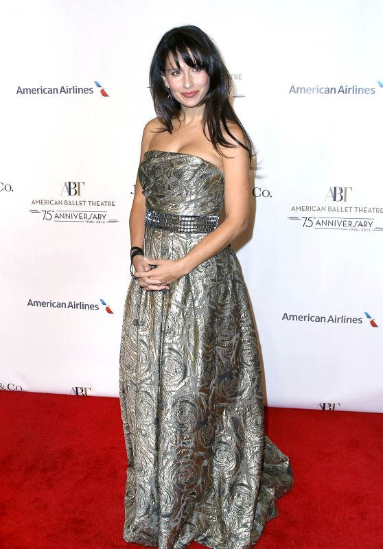 Hilaria Baldwin - American Ballet 75th Anniversary Fall Gala in New York City