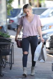 Hilary Duff - Shopping in Studio City, October 2015