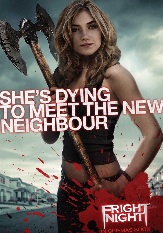 Imogen Poots - Fright Night Poster, Promo & Stills