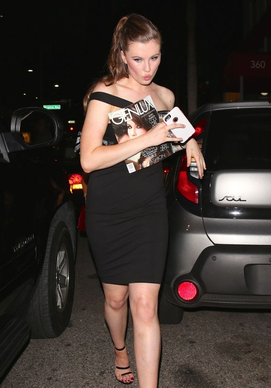 Ireland Baldwin Style - Leaving Genlux Magazine Cover Party in Beverly Hills, October 2015