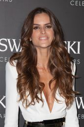 Izabel Goulart - Swarovski 120 X Rizzoli Exhibition and Cocktail in Paris