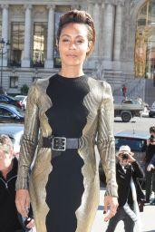 Jada Pinkett Smith Arrives at Guy Laroche Fashion Show 2016 in Paris