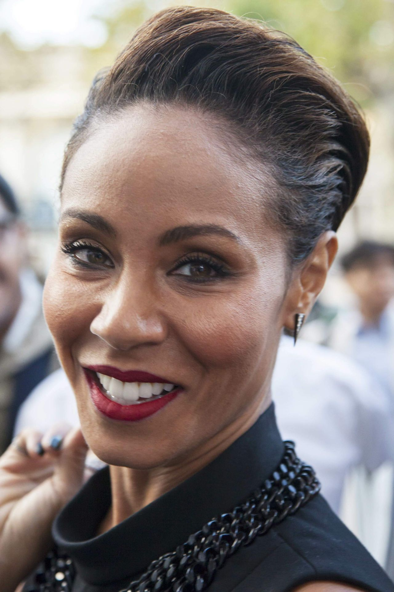 Jada Pinkett Smith Arriving The Barbara Bui During 2016