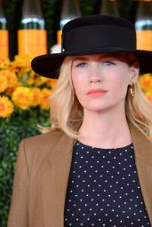 January Jones – 2015 Veuve Clicquot Polo Classic in Pacific Palisades