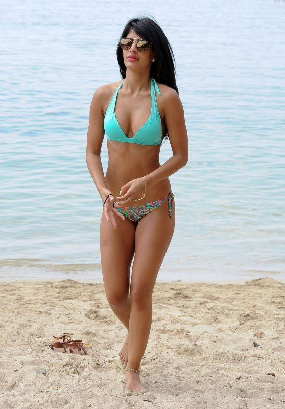 Jasmin Walia in a Bikini - On Holiday, October 2015