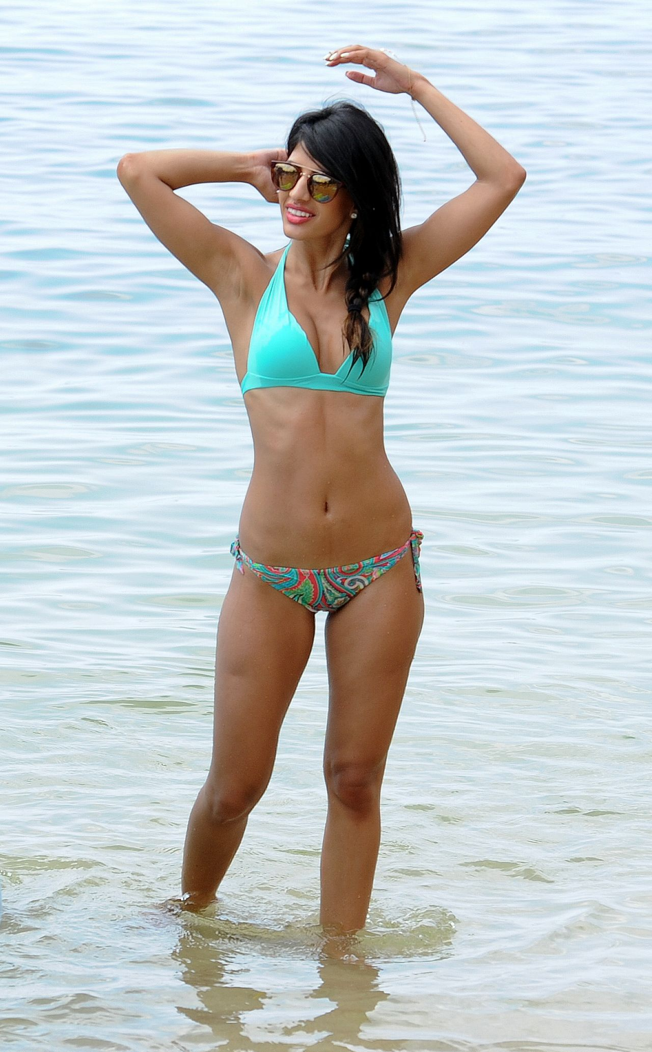 Jasmin Walia In A Bikini On Holiday October 2015