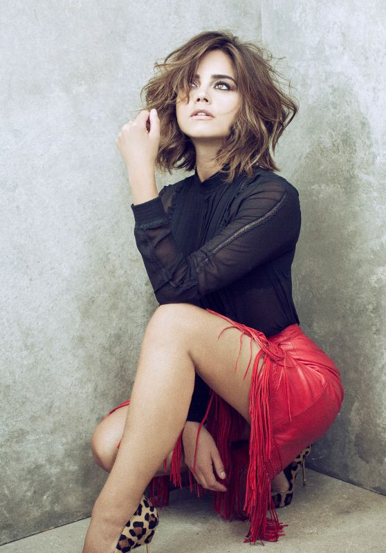 Jenna Louise Coleman - Photoshoot for the Harrods Journal September 2015
