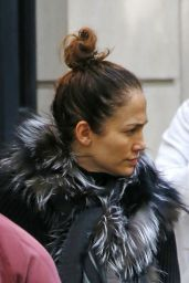 Jennifer Lopez - Out in New York City, October 2015