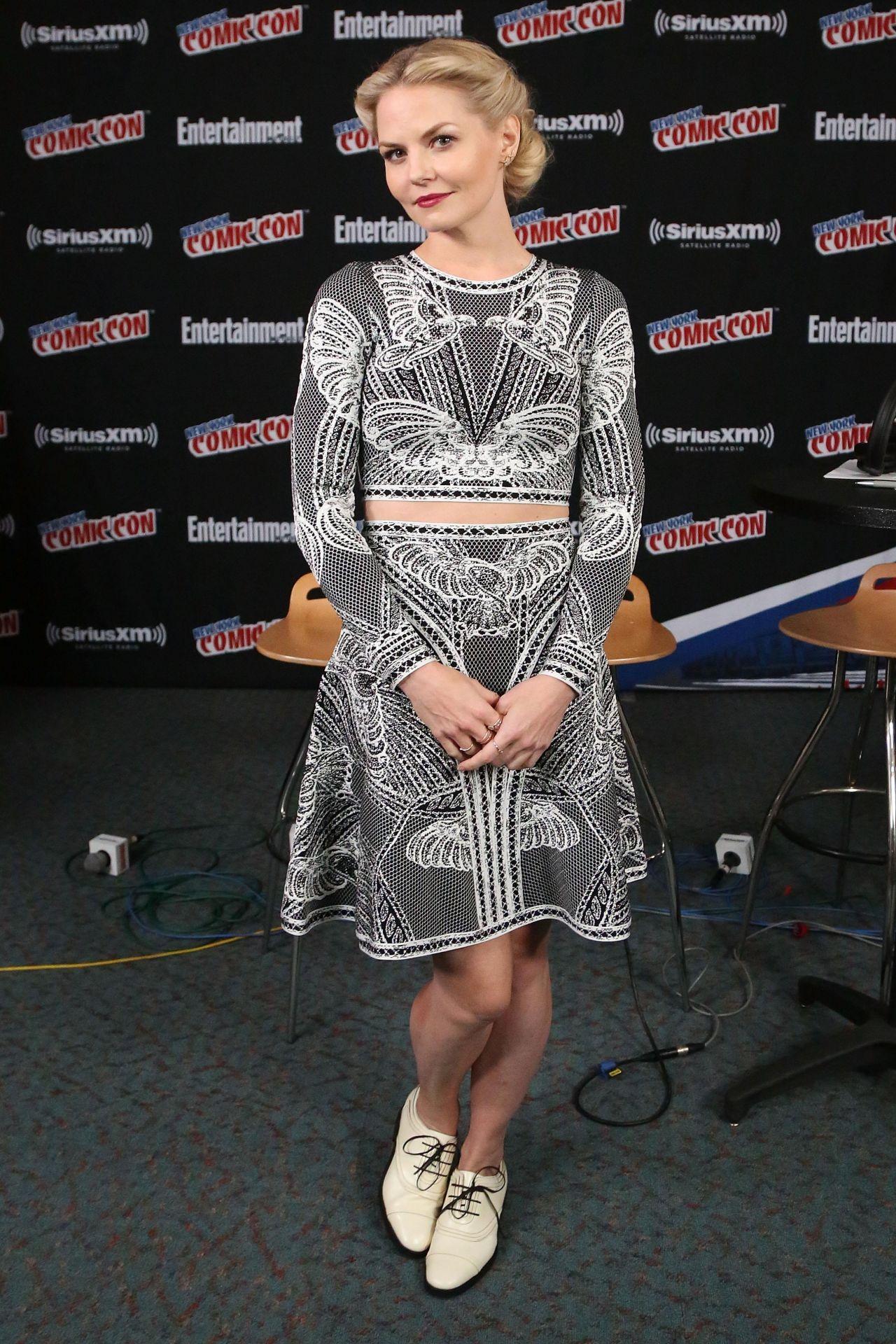 Jennifer Morrison - SiriusXM Studio at New York Comic Con, October 2015