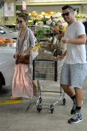 Jessica Alba and Cash Warren - Shopping in Los Angeles, October 2015