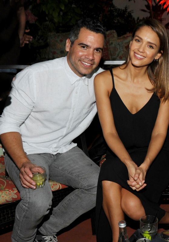 Jessica Alba at Ball & Chain Nightclub in Miami, October 2015