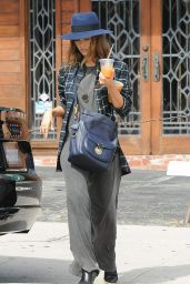 Jessica Alba - at Verve Coffee Roasters in West Hollywood, October 2015