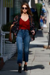 Jessica Alba - Out in Los Angeles, October 2015