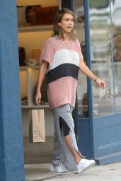 Jessica Alba - Shopping in LA, October 2015