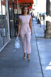 Jessica Alba Street Fashion - Out in Beverly Hills, October 2015