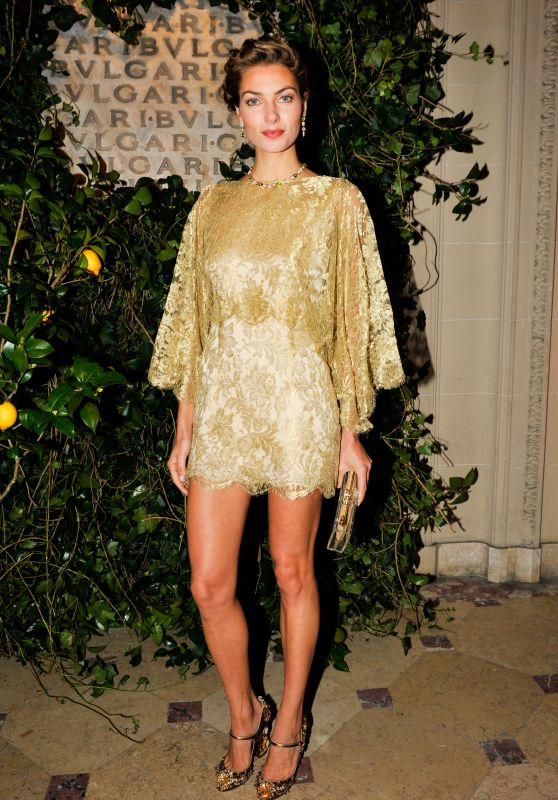 Jessica Hart - BVLGARI & ROME: Eternal Inspiration Opening Night in New York City
