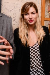 Jessica Hart - FRAME DENIM x NATASHA POLY: DINNER in Paris, October 2015